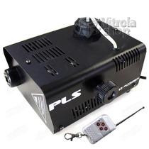 Maquina De Fumaça Pls-f1000 Gelo Seco 750w Controle Wifi