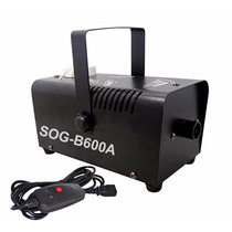 Maquina De Fumaça 600w Profissional Com Controle Festa Dmx