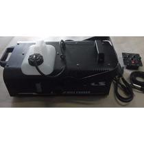 Máquina De Fumaça Pls F1500p Dmx Fogger 110v - Leia Descriçã