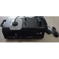 Máquina De Fumaça Pls F1500p Fogger 110v - Leia Descrição