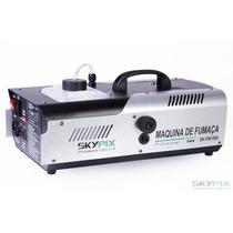 Máquina De Fumaça Dmx 1500w - 110v Com Controle Sem Fio