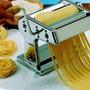 Máquina Macarrão Manual Inox Cilindro Massa Pastel Lasanha