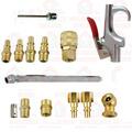 Kit Acessórios Pneumáticos 1/4 Com Engate Rápido, Calibrador