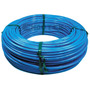 Tubo Poliuretano Pu 08mm Azul Pneumático - Rolo 100 Metros