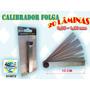 Calibrador De Folga 20 Lâminas 0,05 ~ 1,00 Mm Frete Grátis