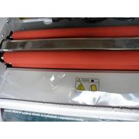 2 Rolos De Silicone P/ Plastificadora Poliseladora A3 Yt-320