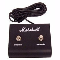 Pedal Footswitch Marshall 00029 Canais Chorus E Reverb,09252