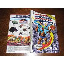 Capitão América Nº 100 Setembro /1987 Ed. Abril Raro !