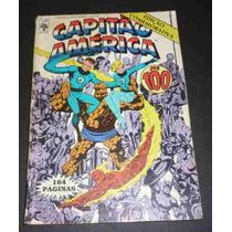 Capitão América Nº100 Ed. Abril 21/09/1987 Comemorativa.