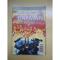 Gibi Hqs Liga Da Justiça E Batman Nº7 Editora Abril Jovem