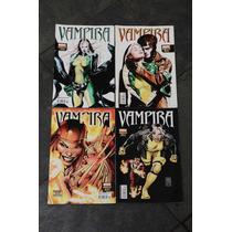 Gibi Vampira 01 Ao 04 Marvel Panini Comics -coleção Completa