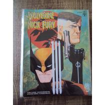 Graphic Novel # 20 - Wolverine / Nick Fury - Conexão Scorpio