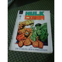 Hulk E O Coisa - Graphic Marvel N.01 Editora Abril