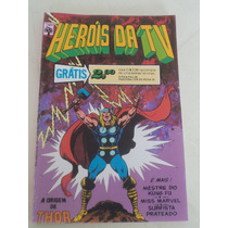 Fac-símile Heroís Da Tv Nº 5 (2ª Série) - Ed. Abril