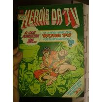 Revista Em Quadrinhos Herois Da Tv N·27 1981 Abril