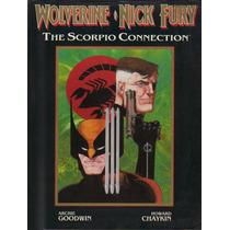 Wolverine Nick Fury The Scorpio Connection Luxo Marve Eua Mc
