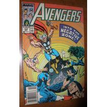 Gibi Avengers Americano Super Heróis Marvel Antigo Anos 80