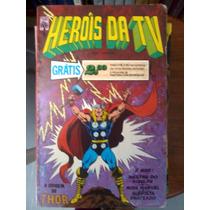Heróis Da Tv Nº 5 Abril Thor ...original Ótimo Raro A