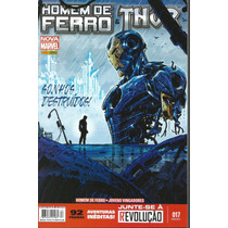 Homem De Ferro E Thor 17 Nova Marvel Panini Bonellihq Cx 210