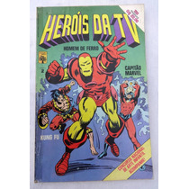 Heróis Da Tv Nº 2: Homem De Ferro - Editora Abril - 1979