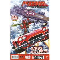 Deadpool Nº 1 - Totalmente Nova Marvel - Panini (novo)