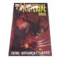 Hq - Wolverine Anual - Crime, Vingança E Garras