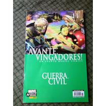 Avante,vingadores N.11 - 1* Serie Panini Comics