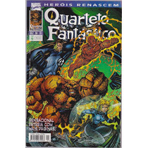 Coleçao Herois Renascem Quarteto Fantastico 12 Vols - Abril