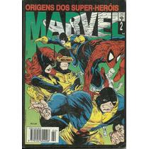Origem Dos Super-herois 1, 2 E 3 300 Pag Aranha X-men Thor