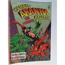 Revista - Homem Aranha Anual Nº 4 (usada - De Regular A Bom)