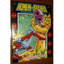 Gibi Homem Aranha Ebal Super Heróis Marvel Antigo Anos 80