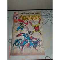 Coleção Histórica Marvel - Completa Com Box - 4 Edições