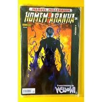 Homem Aranha Marvel Millennium Nº 24 Panini Nova E Lacrada!