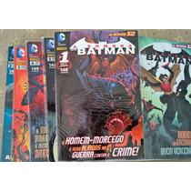 Coleção A Sombra Do Batman Novos 52 - 1 Ao 10 - Panini