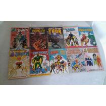 Grandes Herois Marvel Lote Com 25 Revistas