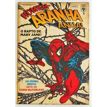Homem Aranha Anual Nº 01 - Ed. Abril Mai/92