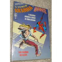 Homem-aranha & Kazar N° 1, Raridade! 100 Págs, Ed. Abril