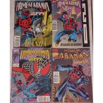 Lote De 4 Gibis Homem Aranha 2099 - 09-20-24-31 - Ed. Abril