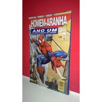 Hq Gibi Homem Aranha Ano Um #01 Marvel Mini- Série Em 3 Ediç