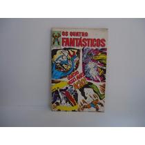 Os Quatro Fantásticos - Nº 1 - Abril 1979 - Rge