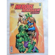 Revista Heróis Renascem O Retorno N°2- Marvel Comics (rh 97)