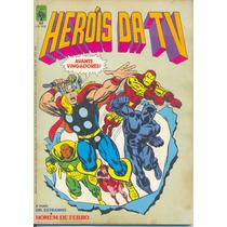 Heróis Da Tv Nº 68 - Editora Abril - 1985
