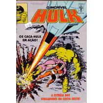O Incrível Hulk Nº 72 Os Caça Hulk Em Ação Ed Abril