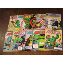 O Incrível Hulk Editora Abril Ano:1988 Lote Com 20 Edições