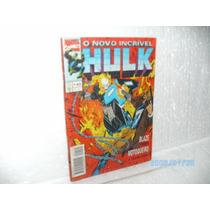 Gibi O Novo Incrível Hulk Ed.abril Nº140 Blaze Vs Motoqueiro