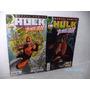 Hq Gibi Hulk E Demolidor Nºs 1e 2 Panini Comics Equipe Fj