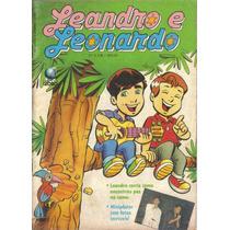 Leandro E Leonardo Nº 8 Ed. Globo Formatinho Abril/1992