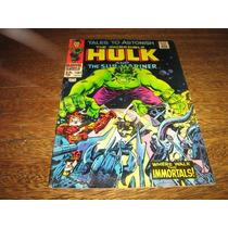 Hulk E Namor (tales To Astonish) Nº 101 Março/1968 Inglês