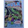 O Incrível Hulk Nº 6 - Jarella Corre Perigo! - Rge - 1979