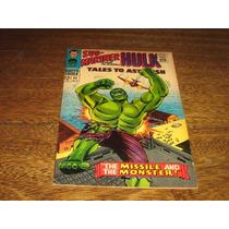 Hulk E Namor (tales To Astonish) Nº 85 Novembro/1966 Inglês
